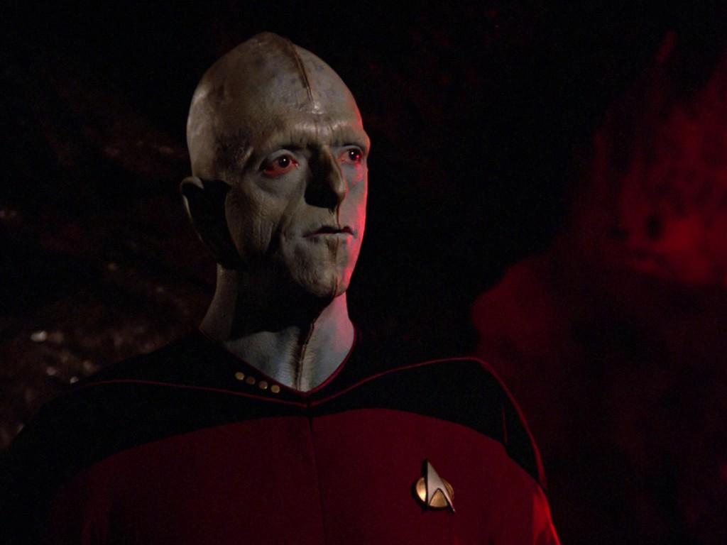 Michael Berryman als Captain Rixx (Quelle: Blu-ray) © CBS / Paramount