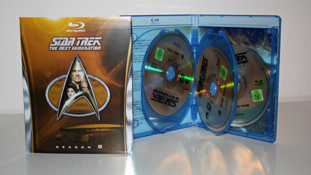 Star Trek - The Next Generation Season 2 Blu-ray Verpackung Foto: Star Trek-HD.de
