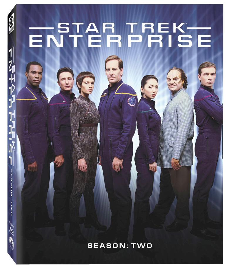 Star Trek Enterprise Season 2 Blu-ray Cover
