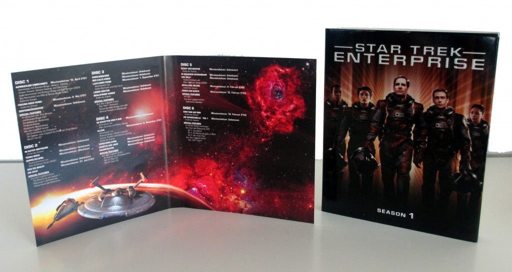 Star Trek Enterprise Season 1 Blu-ray Booklet (Quelle: StarTrek-HD.de)