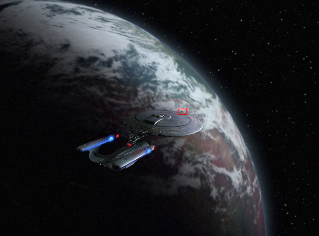 "Star Trek: The Next Generation ""Brieffreunde"" (Pen Pals) Blu-ray © CBS/Paramount"