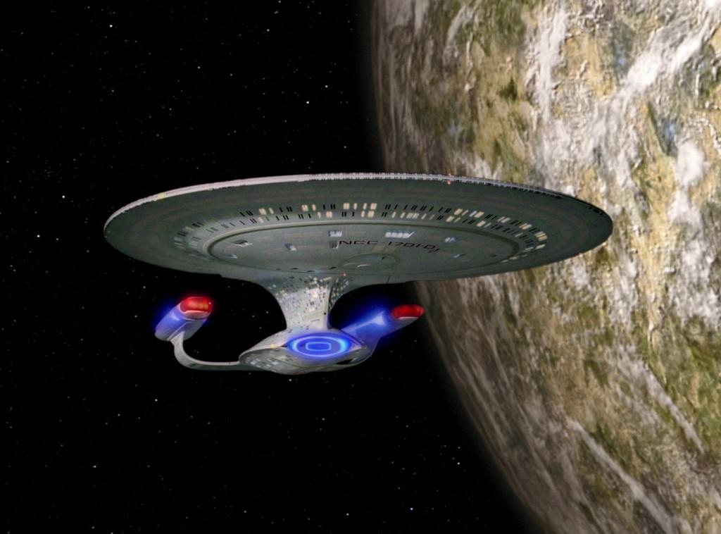 Star Trek: The Next Generation - Der Planet der Klone (Up the Long Ladder) Blu-ray © CBS/Paramount