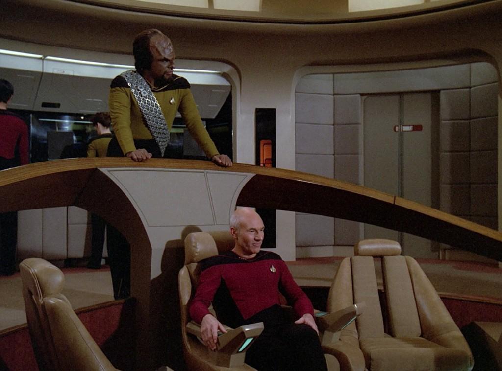 "Star Trek: The Next Generation ""Rikers Vater"" Blu-ray Screencap © CBS / Paramount"