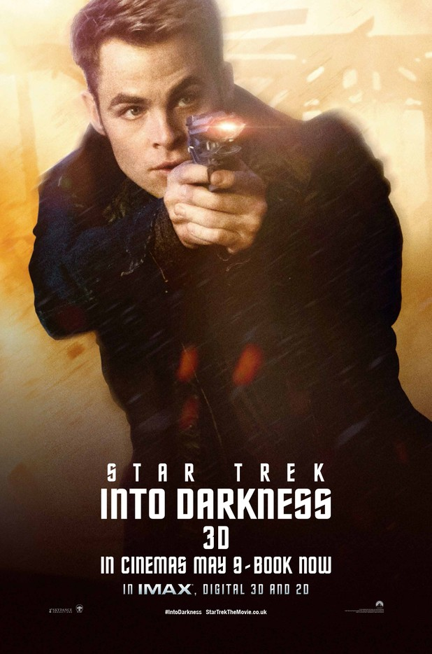 Star Trek Into Darkness Filmplakat (James Kirk))