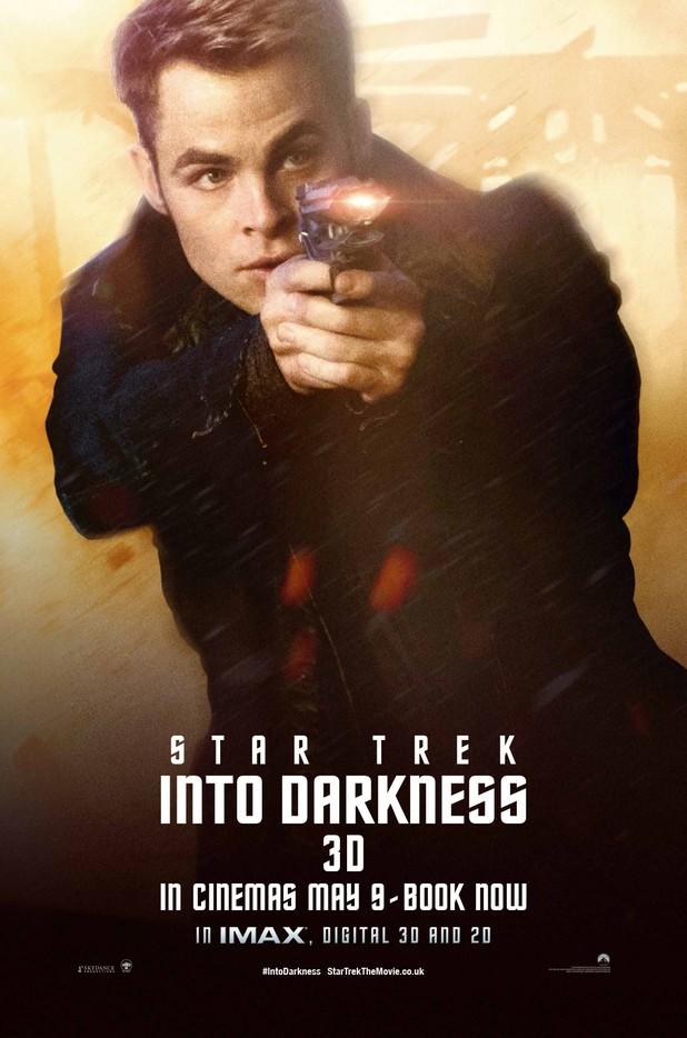 Star Trek Into Darkness Filmplakat (James Kirk))