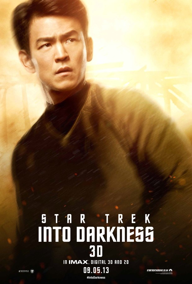 Star Trek Into Darkness Filmplakat (Sulu)