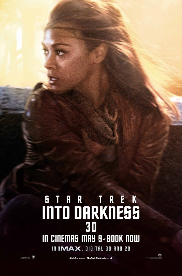 Star Trek Into Darkness Filmplakat (Uhura))