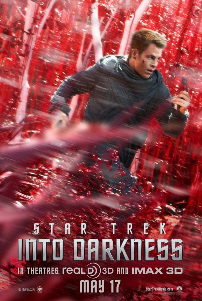 Star Trek Into Darkness Filmplakat (James Kirk)