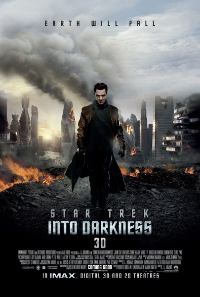 Star Trek Into Darkness Filmplakat (Europa)
