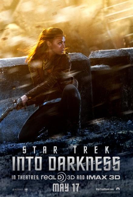 Star Trek Into Darkness Filmplakat (Uhura)
