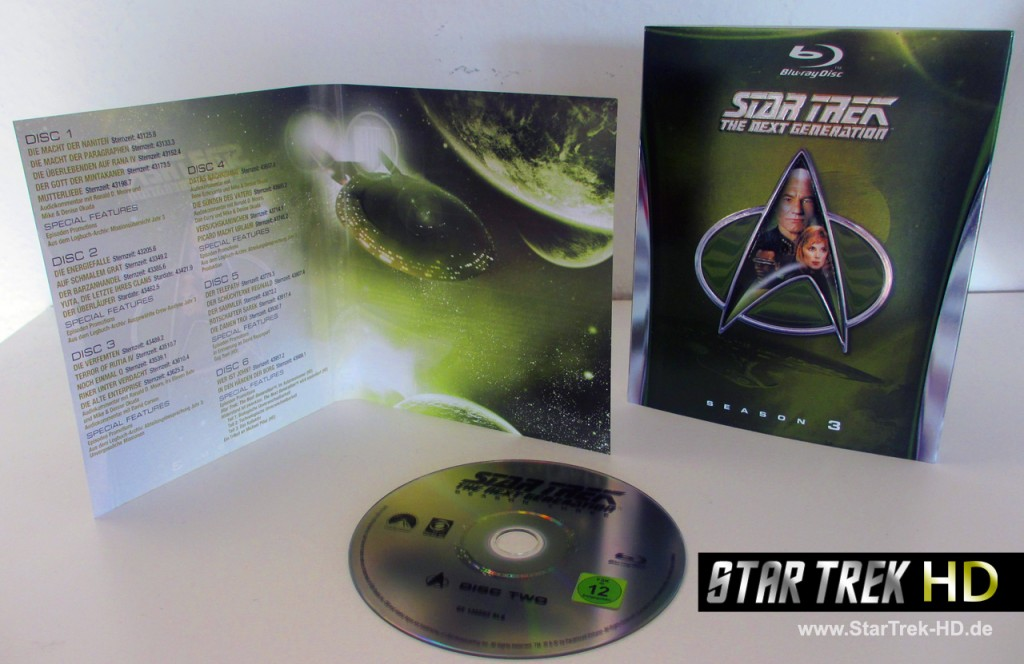 Star Trek: The Next Generation Season 3 Blu-ray Review