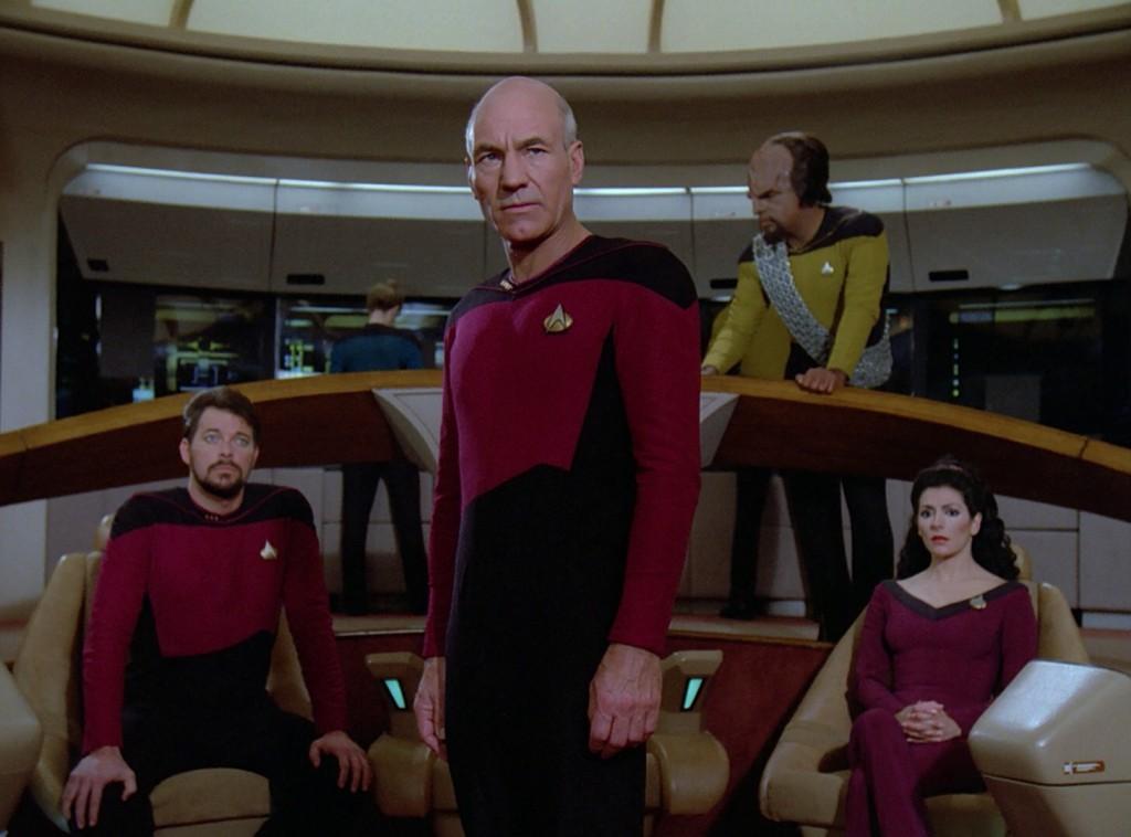 """Star Trek: The Next Generation """"Zeitsprung mit Q"""" (Q Who) Blu-ray"""