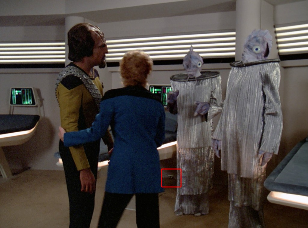 Star Trek The Next Generation - Andere Sterne, andere Sitten (Manhunt) Bluray Review © CBS / Paramount