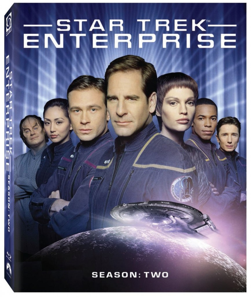 Star Trek Enterprise Season 2 Blu-ray Cover