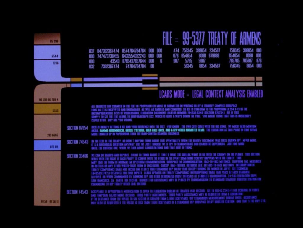 Star Trek: The Next Generation - Die Macht der Paragraphen (The Ensigns Of Command) Blu-ray Screencap © CBS/Paramount