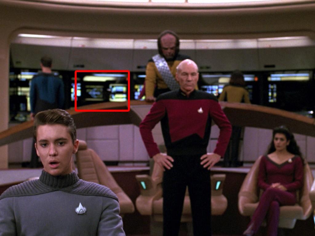 "Star Trek: The Next Generation ""Auf schmalem Grat"" (The Enemy) Blu-ray Screencap © CBS/Paramount"