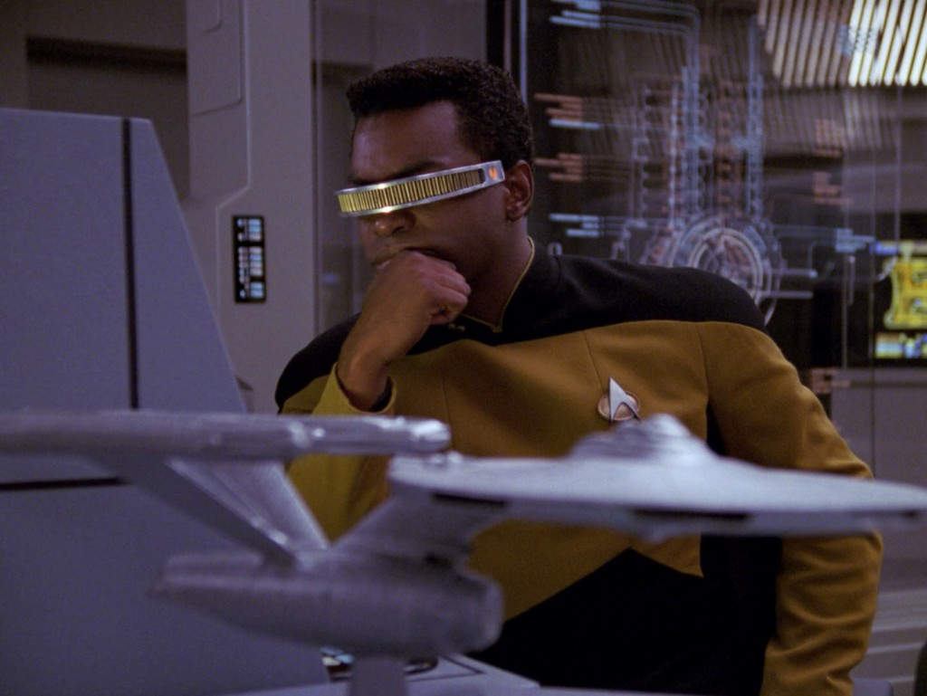 "Star Trek: The Next Generation ""Die Energiefalle"" (Booby Trap) Blu-ray Screencap © CBS/Paramount"