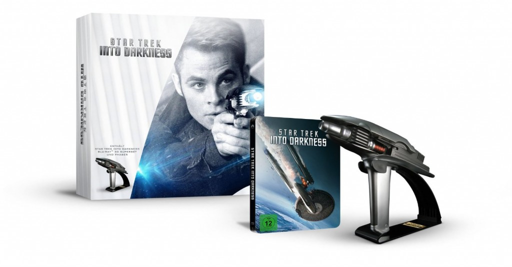 Star Trek Into Darkness Superset mit Phaser (Limitiert und exklusiv bei Amazon.de) [3D Blu-ray]
