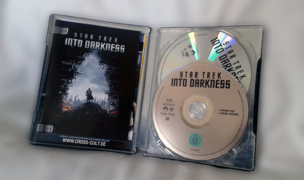 Star Trek Into Darkness Steelbook (exklusiv bei der Drogeriekette Müller)