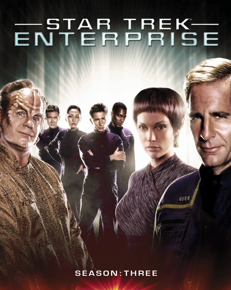 Enterprise Season 3 Blu-ray Cover