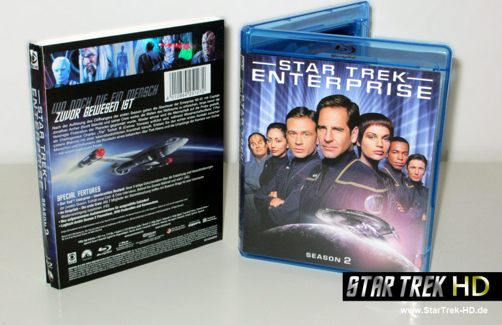 Star Trek Enterprise Season 2 Blu-ray