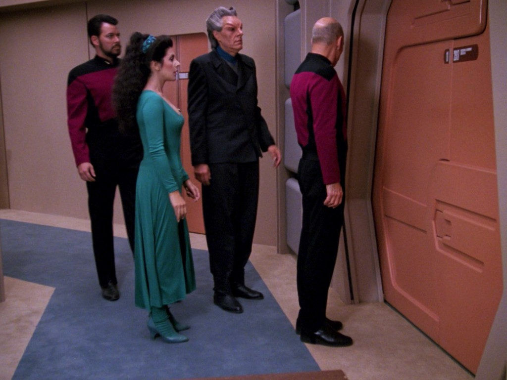 "Star Trek: The Next Generation ""Riker unter Verdacht"" (A Matter Of Perspective) Blu-ray Screencap © CBS/Paramount"