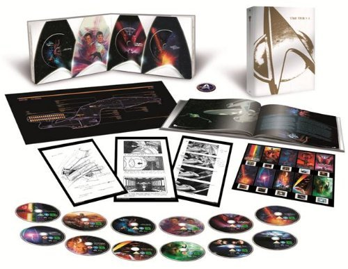 Star Trek I-X Box (exklusiv bei Amazon.de) [Blu-ray] [Limited Collector's Edition]