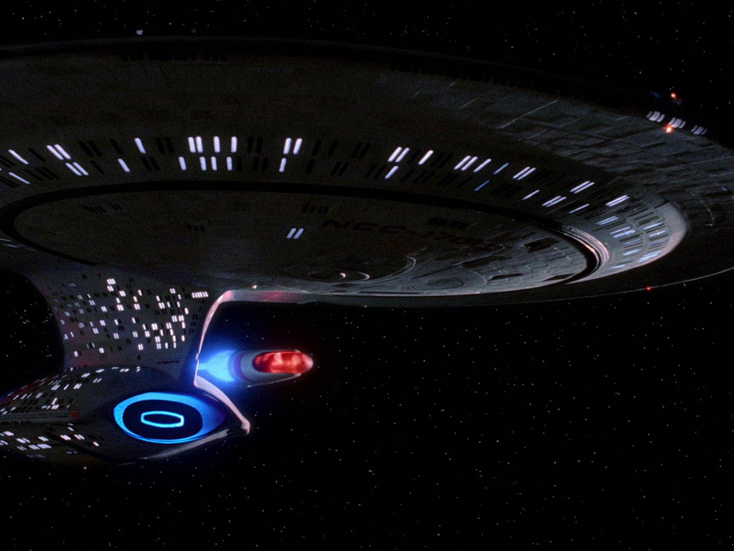Star Trek: The Next Generation – Die alte Enterprise Blu-ray Review