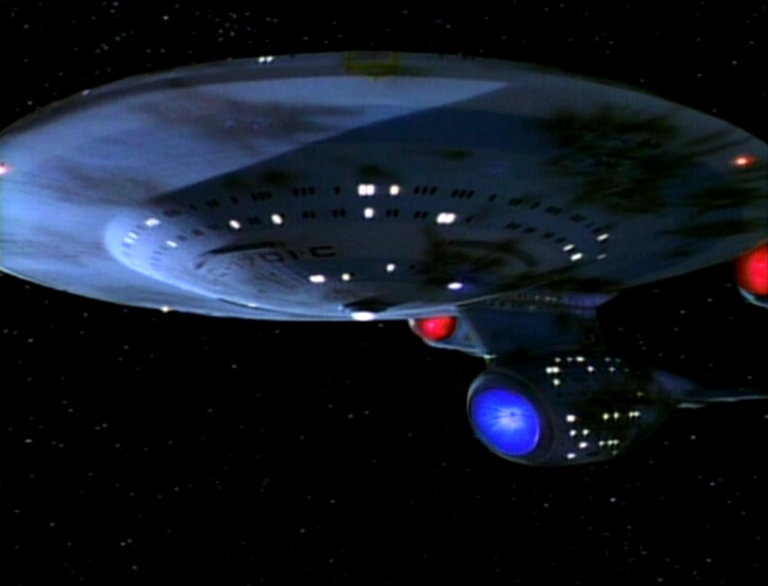 Star Trek: The Next Generation – Die alte Enterprise Blu-ray Review