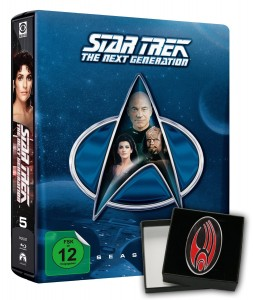 Star Trek: The Next Generation Season 5 Steelbook Collector's Edition Blu-ray