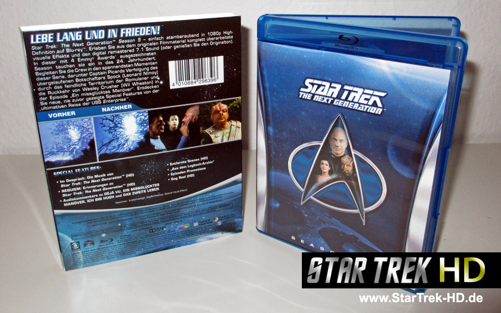 Star Trek: The Next Generation Season 5 Blu-ray Cover