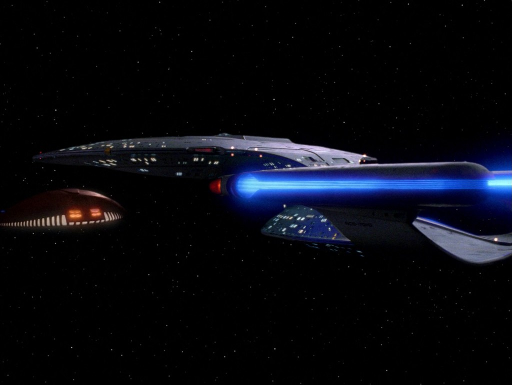 Star Trek: The Next Generation - Die Damen Troi (Ménage à Troi) Blu-ray Screencap © CBS/Paramount