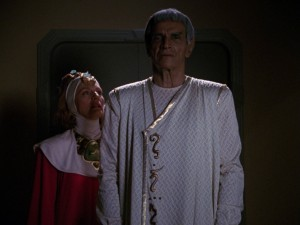 Star Trek: The Next Generation - Botschafter Sarek (Sarek) Blu-ray Screencap © CBS/Paramount