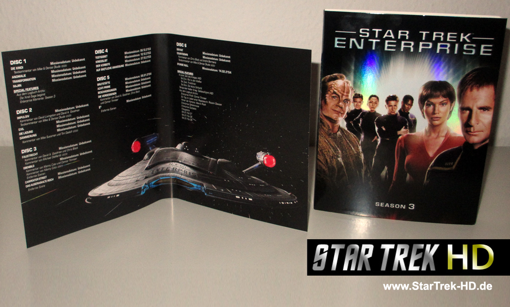 Star Trek Enterprise Season 2 Blu-ray Inlay/Booklet (Foto: StarTrek-HD.de)
