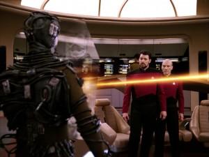 Star Trek: The Next Generation - In den Händen der Borg (The Best Of Both Worlds, 1) Blu-ray Screencap © CBS/Paramount