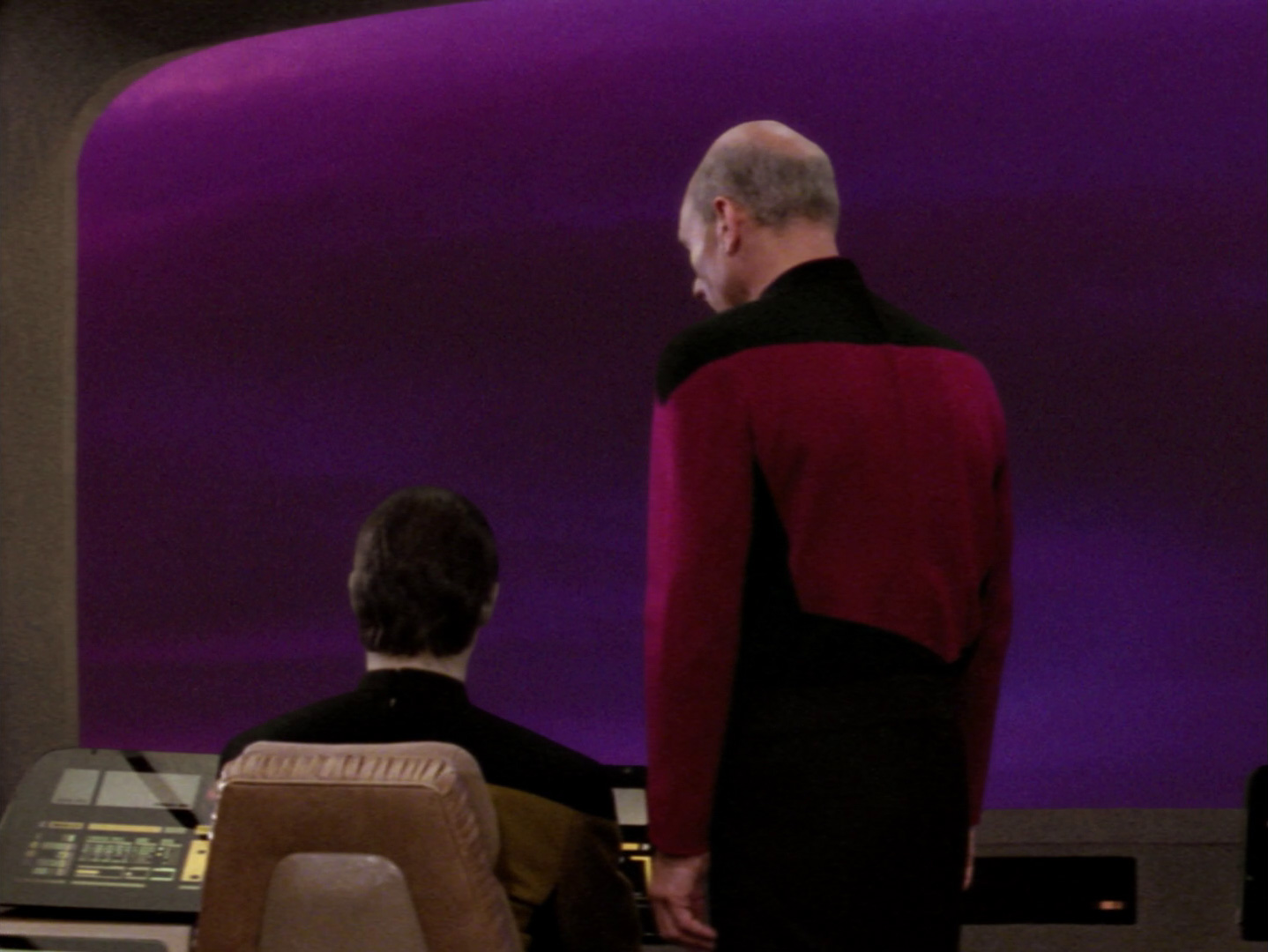 Star Trek: The Next Generation - In den Händen der Borg (The Best Of Both Worlds, 1) Blu-ray Screencap © CBS/Paramount