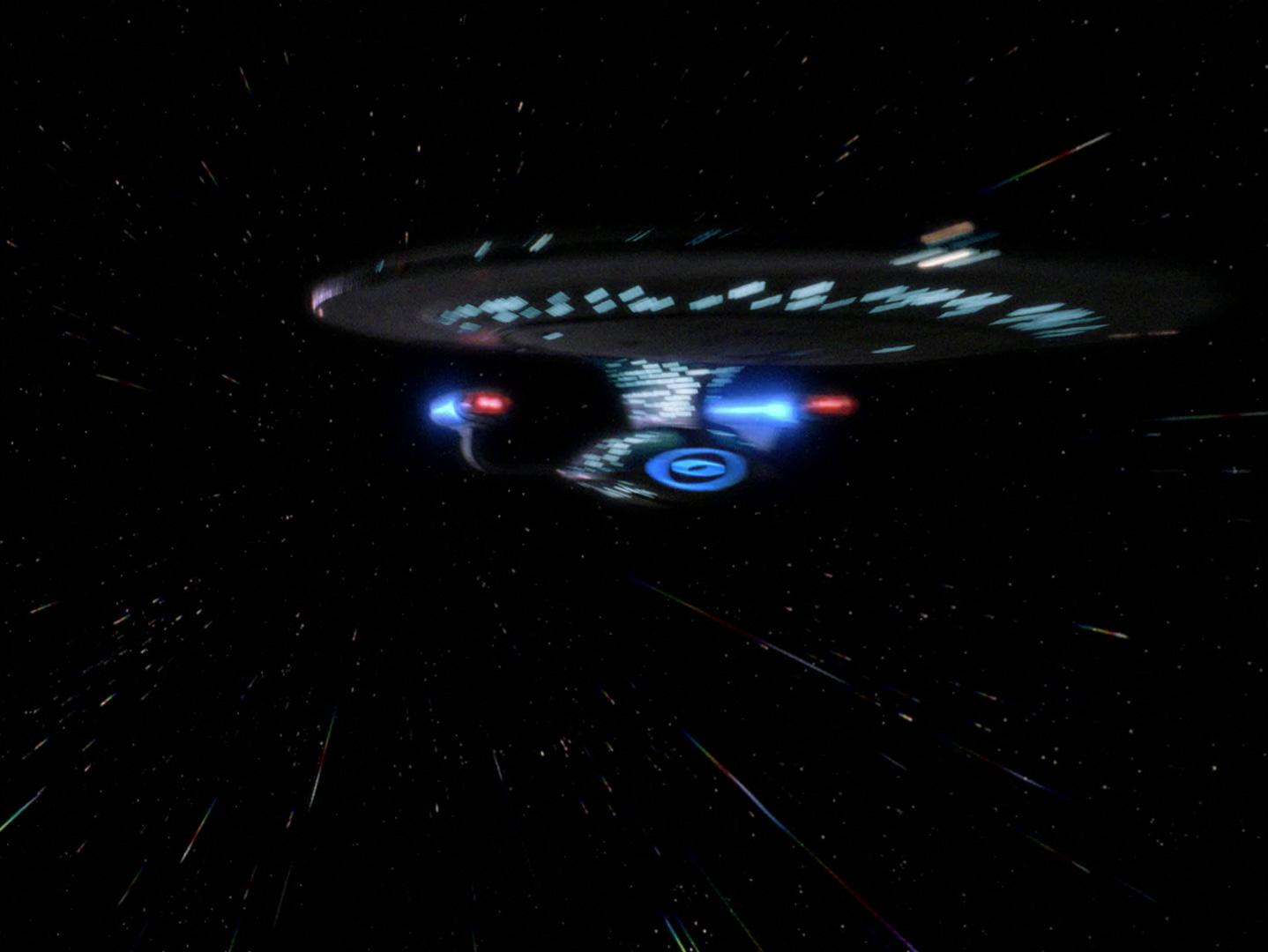 Star Trek: The Next Generation - Angriffsziel Erde (The Best Of Both Worlds, 2) Blu-ray Screencap © CBS/Paramount