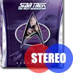 Star Trek: The Next Generation erscheint mit deutscher Stereo-Tonspur.