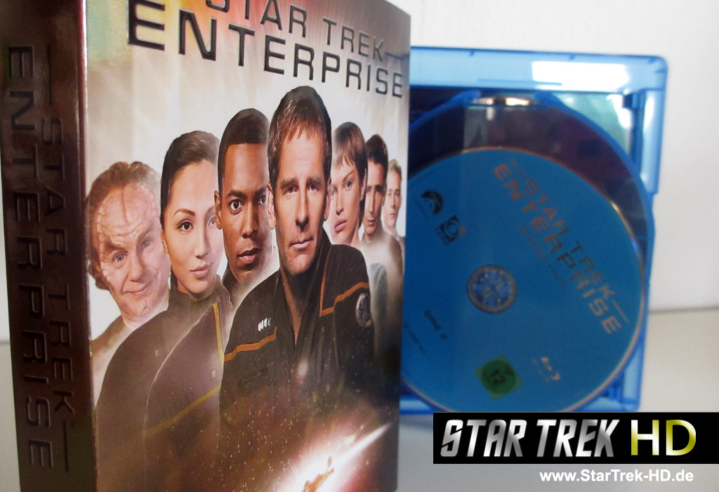 Star Trek: Enterprise Season 4 Blu-ray Cover Foto: StarTrek-HD