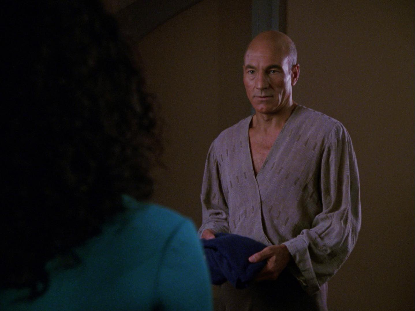 Blu-ray Review Star Trek: The Next Generation - Familienbegegnung (Family) Blu-ray Screencap © CBS/Paramount
