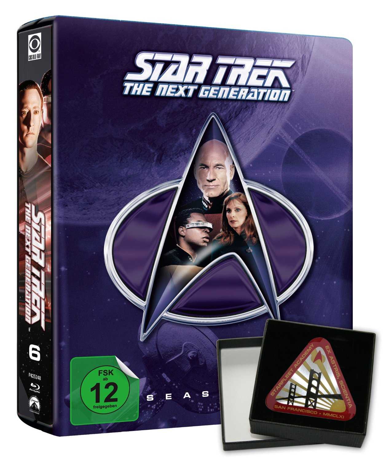Star Trek: The Next Generation Season 6 Steelbook (Limited Collector's Edition)