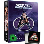 Star Trek: The Next Generation Season 6 Steelbook (Limited Collector's Edition)