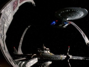 Die Raumstation Deep Space Nine (Blu-ray Screencap von Trekcore.com)