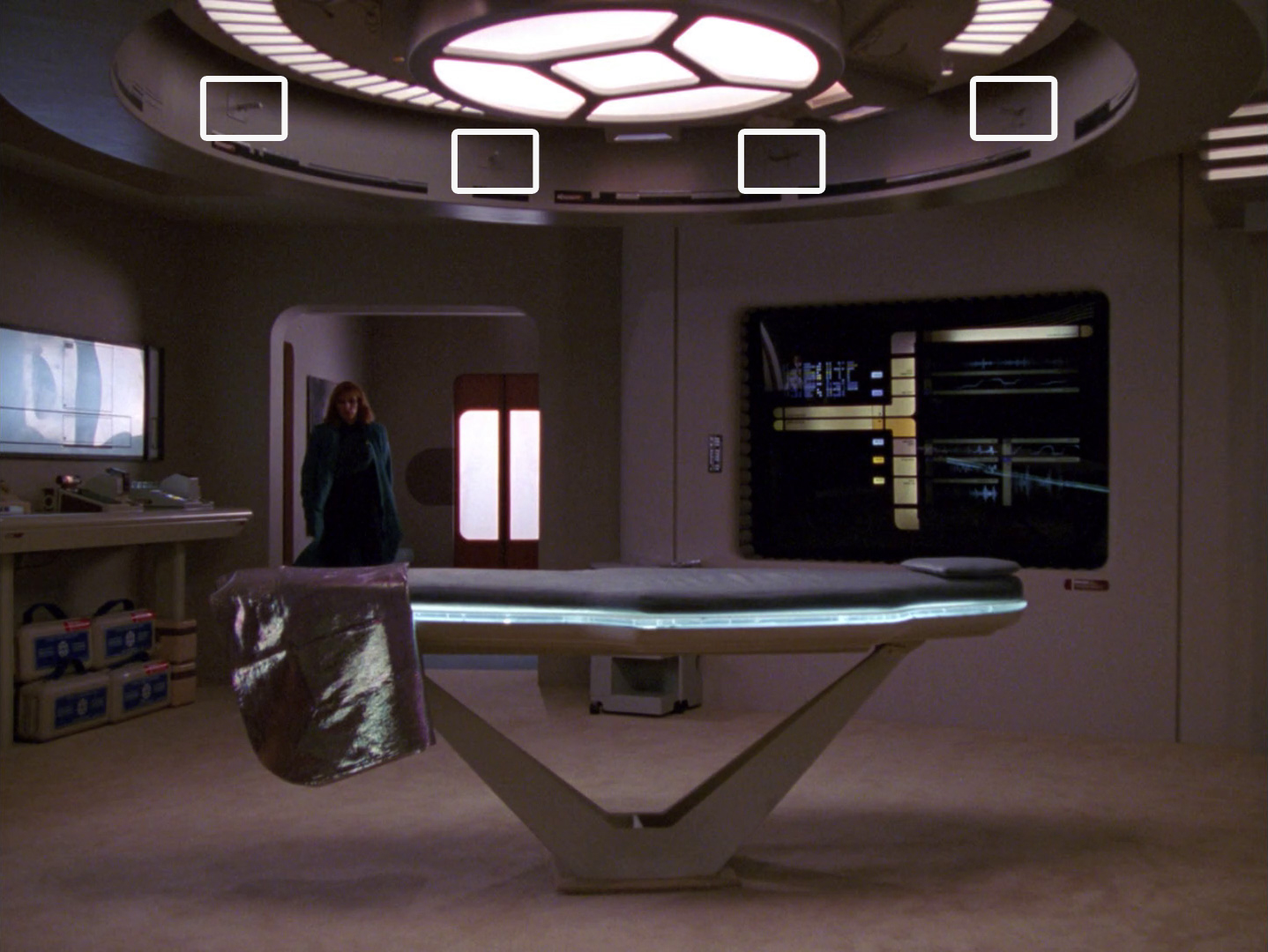 Star Trek: The Next Generation - Das Experiment (Remember Me) Blu-ray Screencap © CBS/Paramount