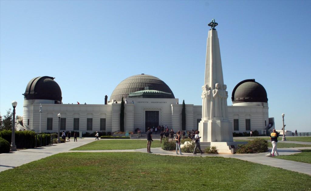 Vom Griffith Observatory bietet sich ein schöner Blick über LA. Foto: Hinze