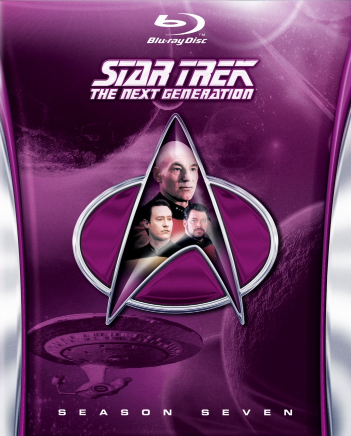 Star Trek: The Next Generation Season 7 Blu-ray Cover