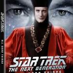 "Star Trek: The Next Generation - ""Gestern, Heute, Morgen"" Blu-ray Cover"