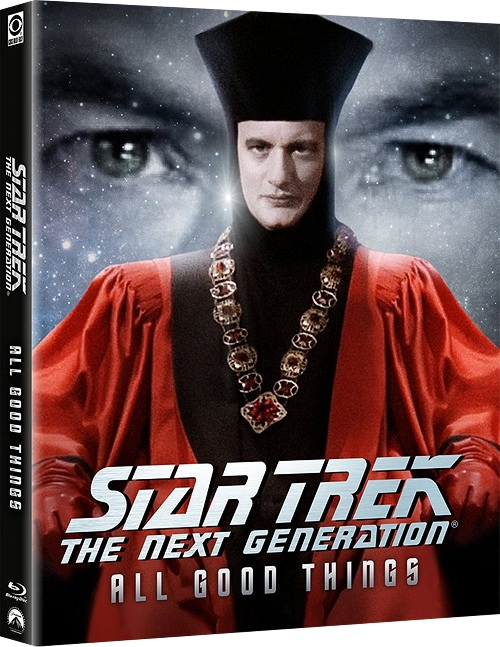 "Star Trek: The Next Generation - ""Gestern, Heute, Morgen"" Blu-ray Cover"