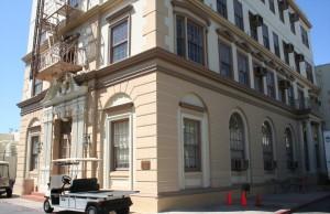 Das Hart Building auf dem Gelände der Paramount Studions. Foto: Hinze