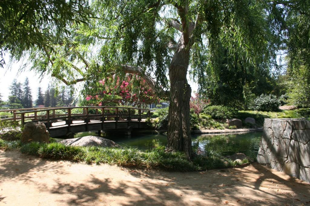 Der japanische Garten bei Tillmann Water Reclamation Plant Foto: Hinze